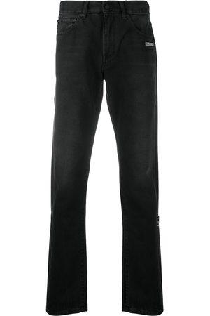 OFF-WHITE Mænd Slim - Diag jeans med smal pasform