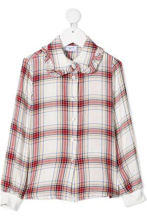 MONNALISA Skotskternet skjorte med Disney-mærke