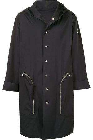 Moncler + Rick Owens Frakker - Enkeltradet Nesbitt frakke med hætte