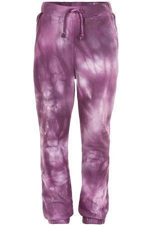 The New Joggingbukser - Sweatpants - Rille Tie Dye - Potent Purple