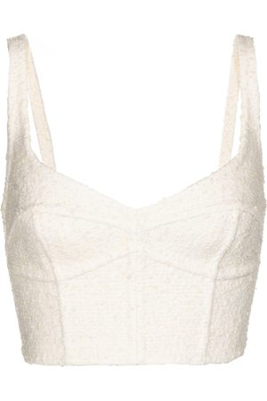 Marc Jacobs Kvinder Korsetter - Wool-blend corset bra