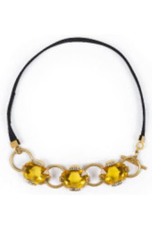 Marni Citrine necklace with gold details