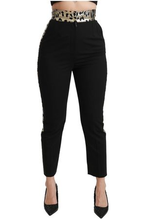 Dolce & Gabbana Cropped Skinny High Waist Pants
