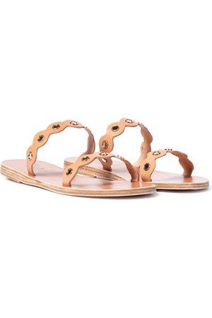 Ancient Greek Sandals Kvinder Sandaler - Melia Mirrors leather sandals