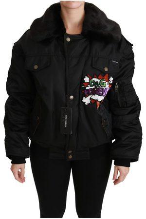 Dolce & Gabbana Queen Crown Sequined Bomber Jacket
