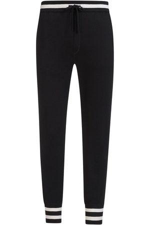 Dolce & Gabbana Mænd Joggingbukser - Striped drawstring track pants