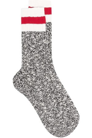 Dsquared2 Mænd Strømper - Stripe detail knitted socks