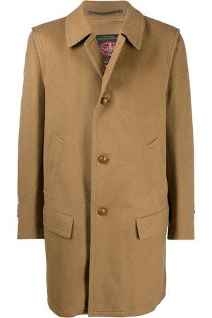 A.N.G.E.L.O. Vintage Cult Kvinder Vinterfrakker - 1900s classic collar buttoned coat