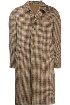 A.N.G.E.L.O. Vintage Cult 1990s houndstooth knee-length coat