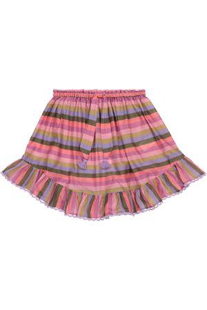 ZIMMERMANN Kvinder Mininederdele - Poppy striped cotton voile miniskirt