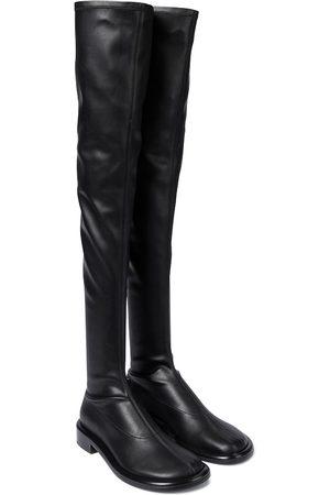 Proenza Schouler Kvinder Lange støvler - Faux leather over-the-knee boots
