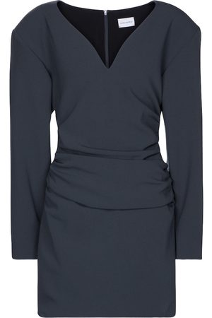 MAGDA BUTRYM Kvinder Festkjoler - Ruched stretch-wool minidress