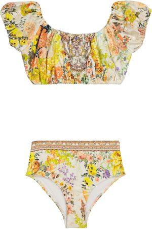 Camilla Embellished floral bikini
