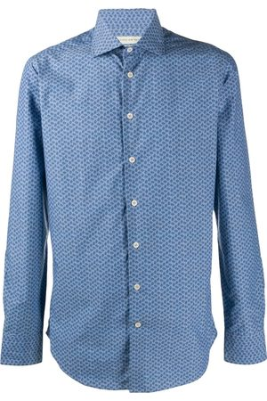 Etro Paisley print long-sleeved shirt