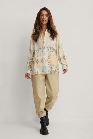 Isha Van Dijk x NA-KD Kvinder Casual - Oversize Skjorte