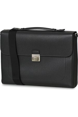 Mont Blanc Mænd Laptop Tasker - MST Soft Grain Single Briefcase Black