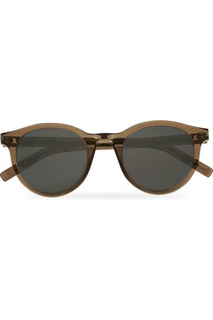 Saint Laurent SL 342 Mirror Lens Sunglasses Brown