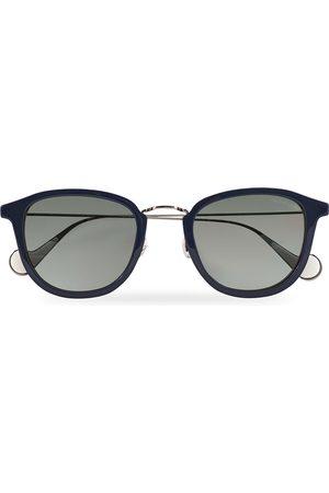 Moncler Lunettes Mænd Solbriller - ML0126 Sunglasses Blue/Red