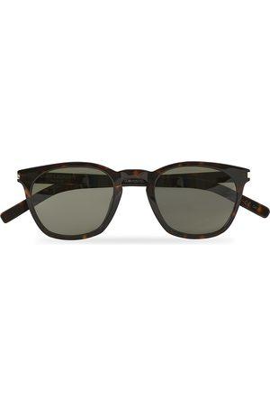 Saint Laurent Mænd Solbriller - SL 28 Sunglasses Havana/Grey