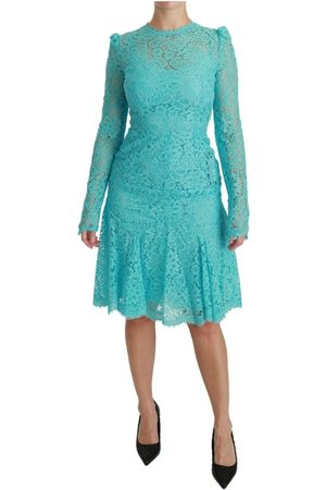 Dolce & Gabbana Lace Knee Length Sheath Dress
