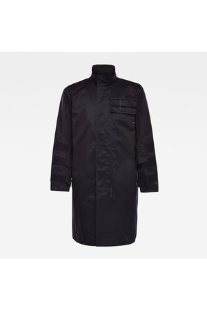 G-Star Mænd Trenchcoats - Men GSRR 2 in 1 Trench Coat Black