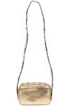 RED Valentino Leather bag with shaped shoulder strap
