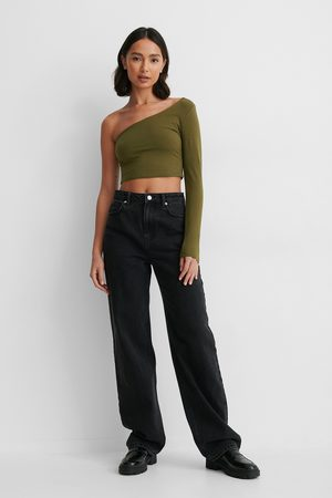 NA-KD One Sleeve Crop Top