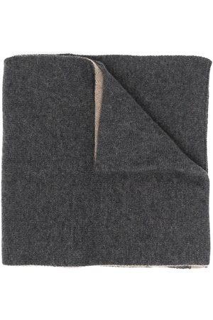 DELL'OGLIO Cashmere reversible scarf