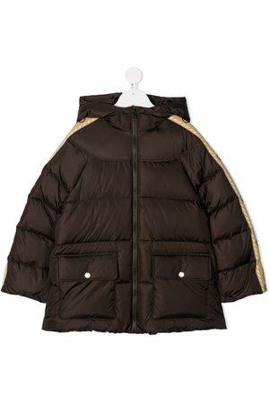 Gucci Outdoorjakker - Interlocking G-stripe padded jacket