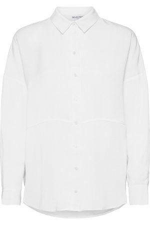 Selected Slftrixy Ls Shirt B Noos Langærmet Skjorte