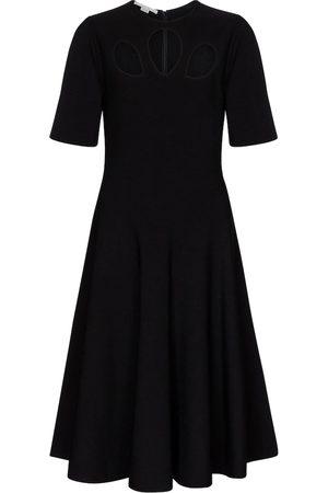 Stella McCartney Kvinder Festkjoler - Cutout knit midi dress