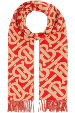 Burberry Tørklæder - Kashmirtørklæde i jacquard med monogram