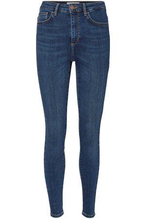 Vero Moda Kvinder High waist - Vmsophia High Waist Skinny Fit Jeans Kvinder Blå