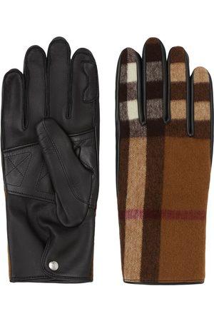 Burberry Mænd Handsker - Ternede handsker