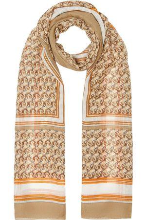 Burberry Tørklæder - Unicorn-print silk scarf