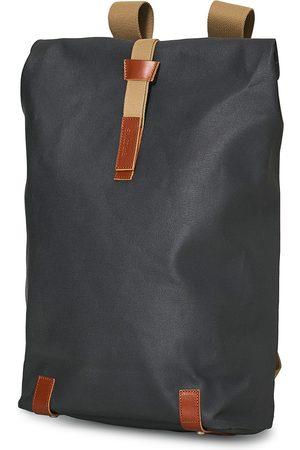 Brooks Brothers Mænd Rygsække - Pickwick Cotton Canvas 26L Backpack Grey Honey