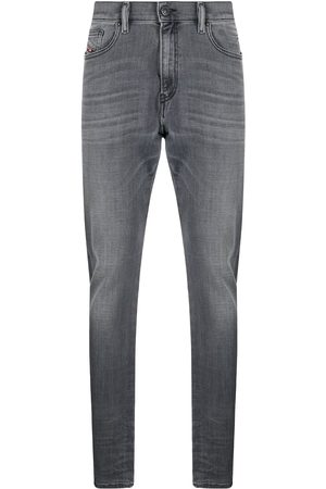 Diesel D-Amny mid-rise slim-fit jeans