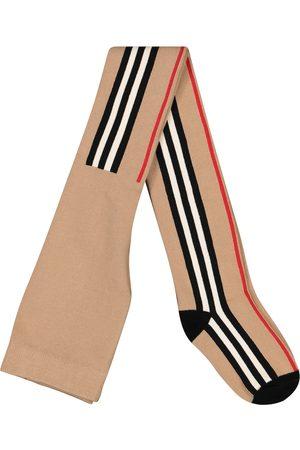 Burberry Icon Stripe cotton-blend tights