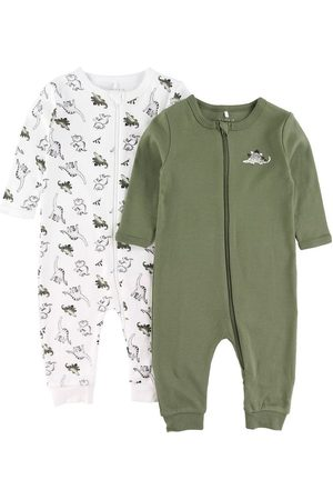 Name it Bodies - Natdragter - 2-pak - Noos - NbmNightsuit - Loden Green