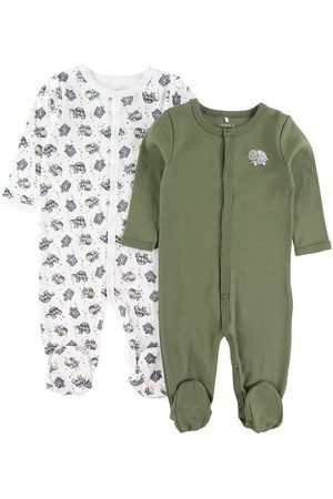 Name it Bodies - Natdragter - 2 pak - Noos - NbmNightsuit - Loden Green