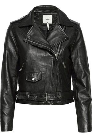 Object Objnandita Leather Jacket Noos Læderjakke Skindjakke