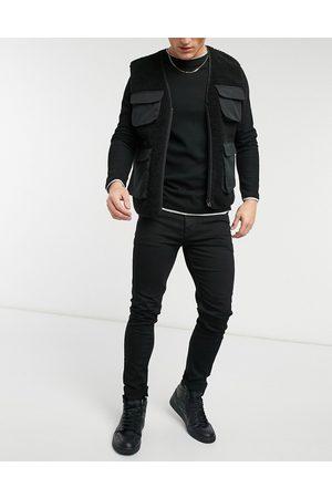 ASOS No fade sorte skinny jeans