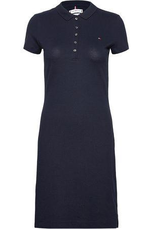Tommy Hilfiger Kvinder Kjoler - Heritage Slim Polo Dress Kort Kjole