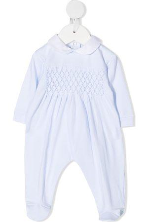 SIOLA Baby Pyjamas - Pyjamas med diamantstrikket mønster