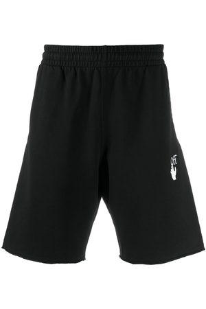 OFF-WHITE Diag stripe sweat shorts