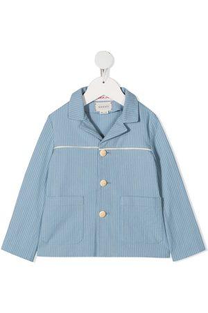 Gucci Striped cotton jacket