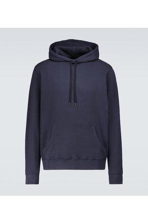 Sunspel Hooded cotton loopback sweatshirt