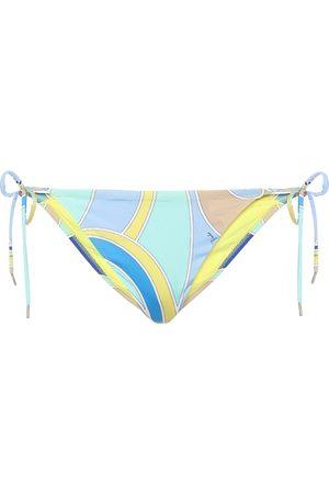 Emilio Pucci Printed bikini bottoms