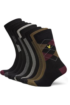 Lyle & Scott Mænd Strømper - Thomas Underwear Socks Regular Socks Multi/mønstret