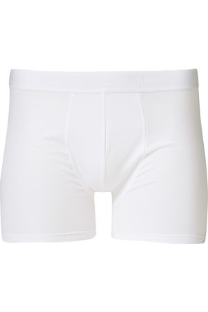 Bresciani Cotton Boxer Trunk White